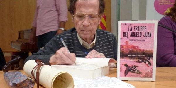 "ISIDORO FILELLA BALDOIRA presentarà el seu llibre ""La Estirpe del Abuelo Juan"""