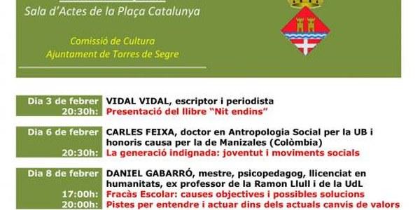 JORNADES CULTURALS 2012 (Del 3 al 17 de febrer)