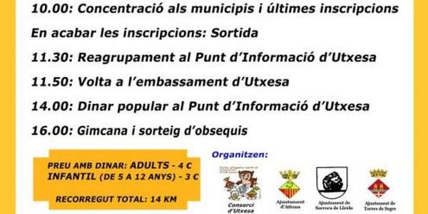11a PEDALADA POPULAR D'UTXESA