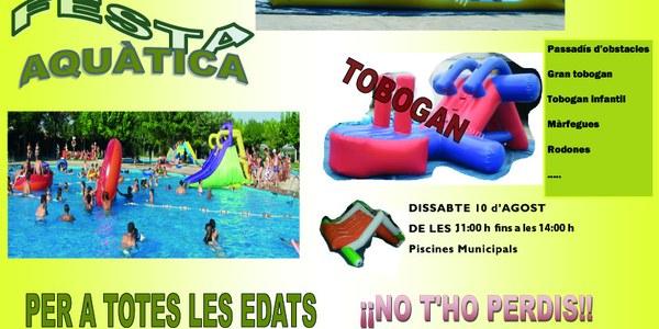 FESTA AQUÀTICA A LES PISCINES MUNICIPALS