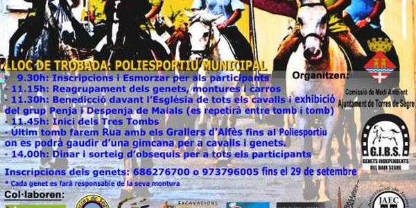 2a FESTA DELS 3 TOMBS DE TORRES DE SEGRE - EL PROPER DIUMENGE 5 D'OCTUBRE
