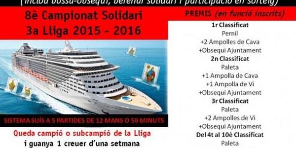 2016 - 8è CAMPIONAT SOLIDARI DE BOTIFARRA
