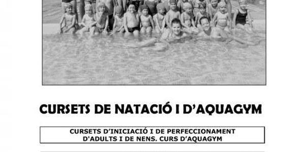 2016 - CURSETS NATACIO I AQUAGYM ESTIU