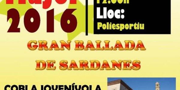 2016 - GRAN BALLADA DE SARDANES