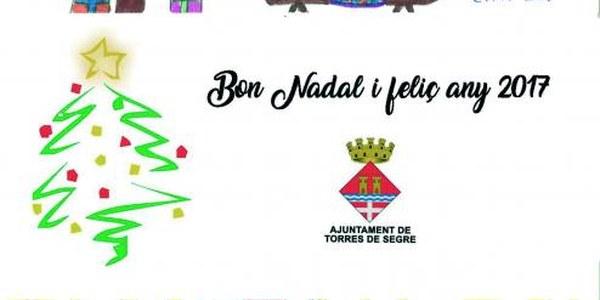 L'Ajuntament de Torres de Segre us desitja un Bon Nadal.