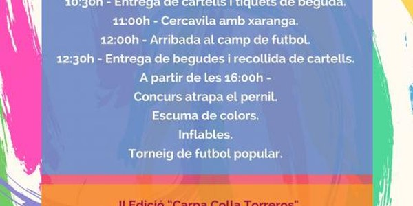 2017 - FESTA DE LES CASSOLES
