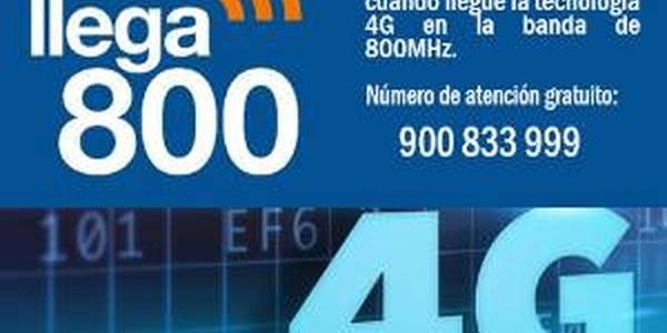 2017 - DESPLEGAMENT 4G A LA BANDA 800MHZ