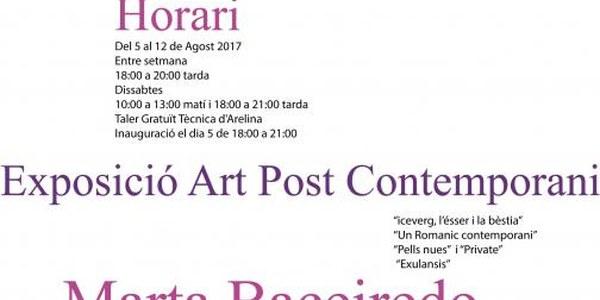 2017 - EXPOSICIÓ ART POST CONTEMPORANI