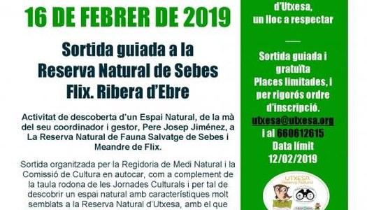 2019 - SORTIDA RESERVA NATURAL SEBES
