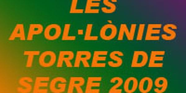 APOL·LÒNIES 2009 - EL PROPER DISSABTE DIA 7 A LES 22.00 HORES BALL - A LES 01.00 DISCOMÒBIL I A LES 03.00 DJ XUXE I DJ OTERO