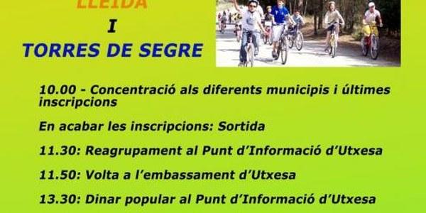 EL PROPER DIUMENGE 19 D'ABRIL TINDRÀ LLOC LA 8a PEDALADA POPULAR PER UTXESA