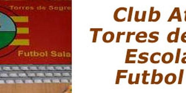 FUTBOL SALA: ÚLTIM PARTIT DE LLIGA REGULAR CADET A LES 17.00 TORRES -VS- BALAGUER I A LES 19.00 SÈNIOR: TORRES -VS- ALCOLETGE