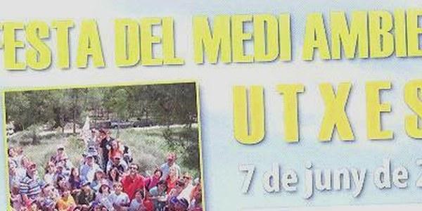 AQUEST DIUMENGE DIA 7 DE JUNY TINDRÀ LLOC LA III FESTA DEL MEDI AMBIENT A UTXESA AMB JOCS PER A TOTA LA FAMILIA