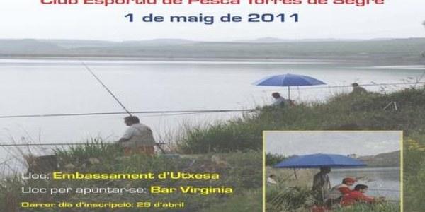 14a FESTA DEL PESCADOR  Embassament d'Utxesa  Diumenge  01 de maig de 2011